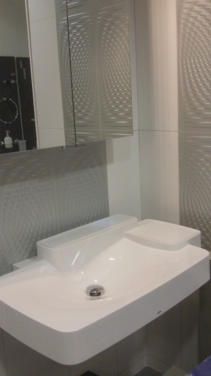 Hansgrohe Basin on Display at Aquarooms120_1489