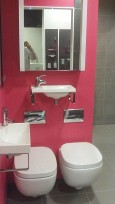 Hidra Dial at Aquarooms Showroom